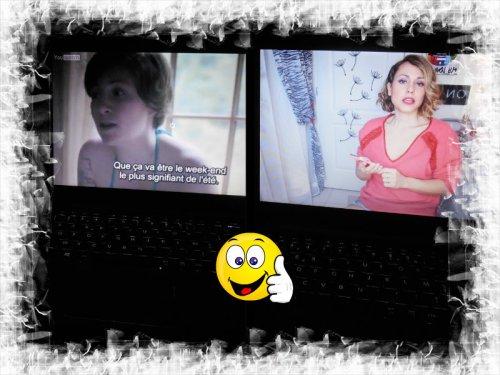 """Adepte de séries (""""Girls"""", là) et visionnage des vidéos de mes Youtubeuses chouchou :-) <3"""